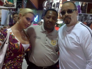 Security Ice-T and Coco throughout their stay in Atlanta