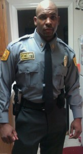 Special Events Officer Williams prior to duty