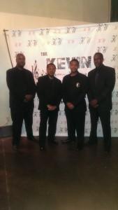 Posing with three of our finest prior to a fun raising event in downtown Atlanta